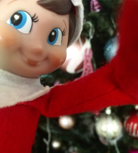 elf selfie
