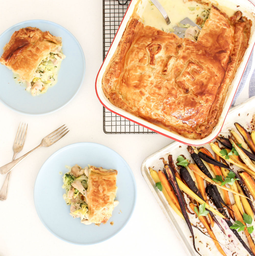 Annabel Cooks: Chicken and Leek Pie