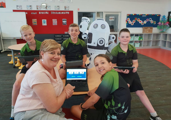 OVER 19,000 SA CHILDREN LEARNT HOW TO SPEAK ROBOT THIS YEAR!