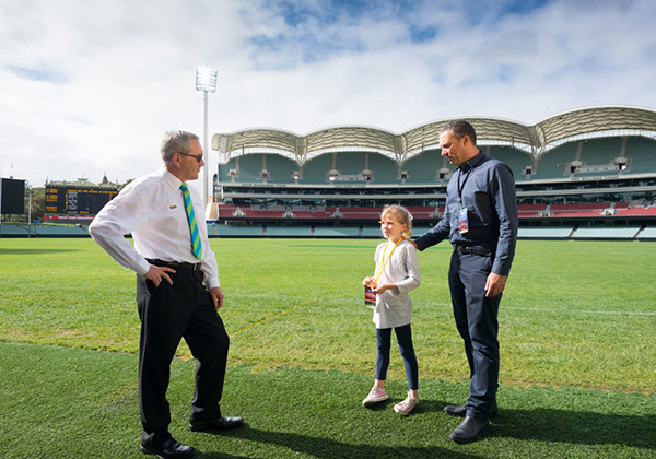 SCHOOL HOLIDAY FUN SORTED WITH THE NEW ADELAIDE OVAL KIDS TRAIL