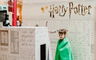 Try the Harry Potter Invisibility Cloak These School Holidays!