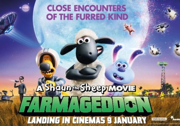 WIN: A FAMILY PASS TO SHAUN THE SHEEP MOVIE: FARMAGEDDON