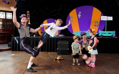 MARCH TO THE BEAT OF THE BRASS MONKEY'S DRUM THIS FRINGE