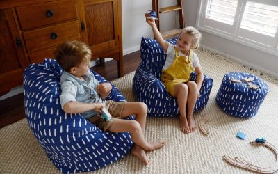 WIN A LELBY BEAN CHAIR VALUED AT $199 THANKS TO PLAY POUCH