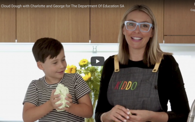 CLOUD DOUGH WITH CHARLOTTE AND GEORGE FOR THE DEPARTMENT OF EDUCATION SA