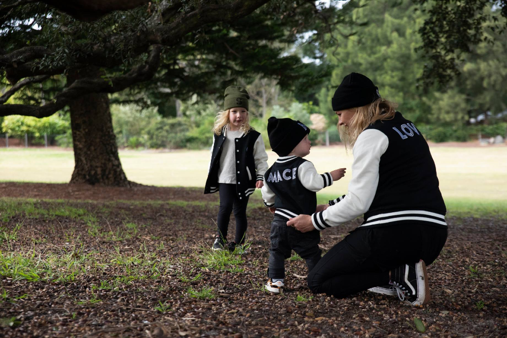 Win: A Customised Buddy and Biggie Varsity Jacket + Beanie