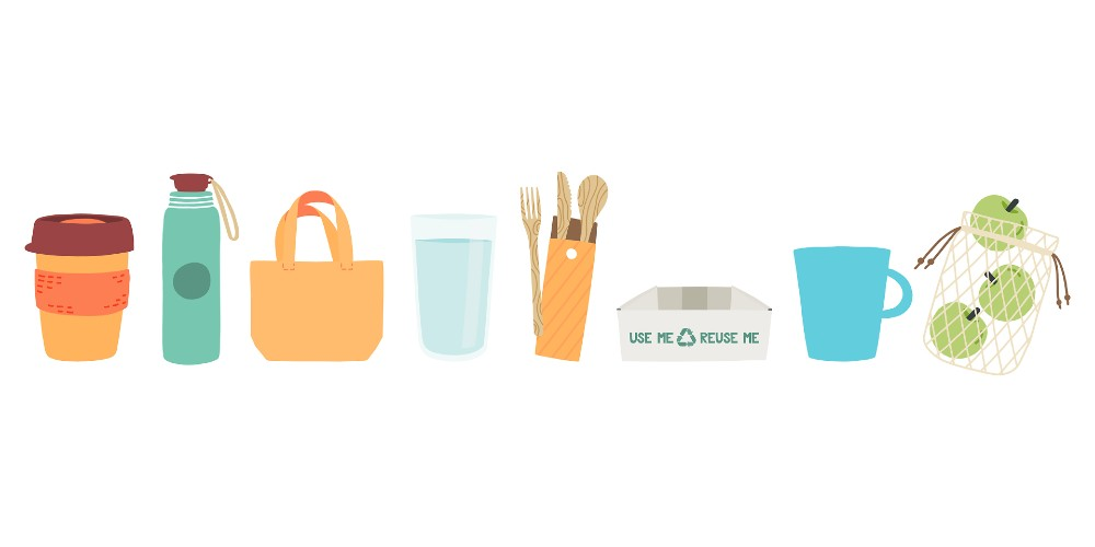 tips for going plastic free