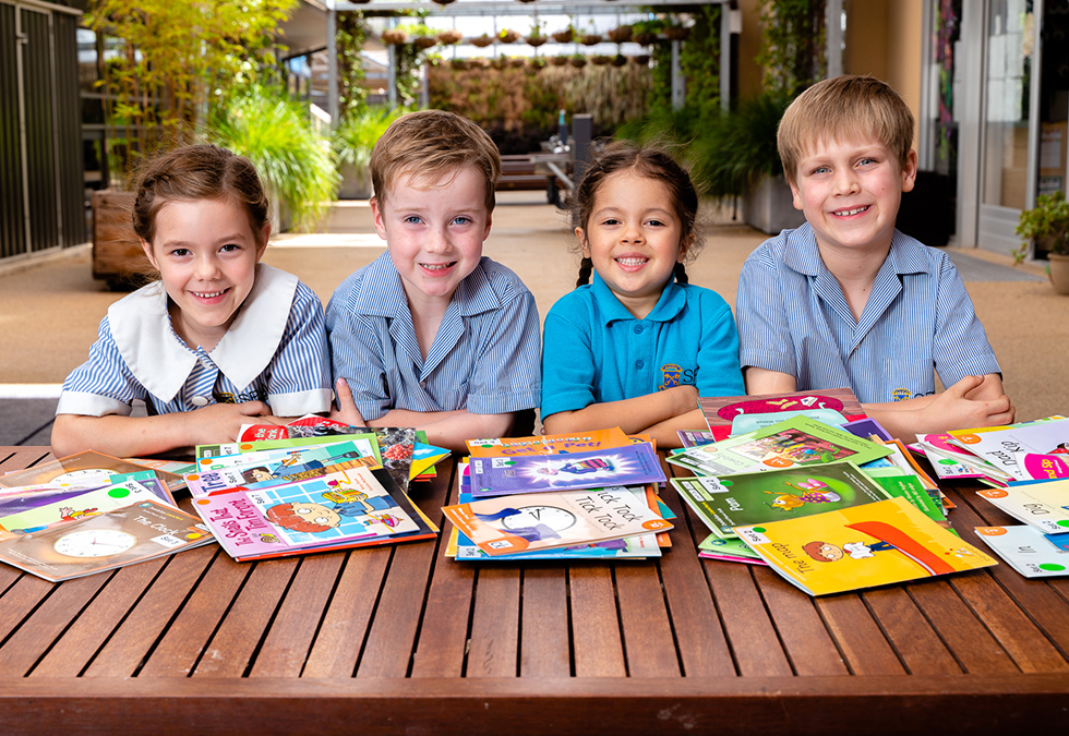 Decoding the secret to reading and writing at St Peter's Woodlands