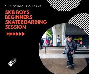 boys beginner skateboard lessons