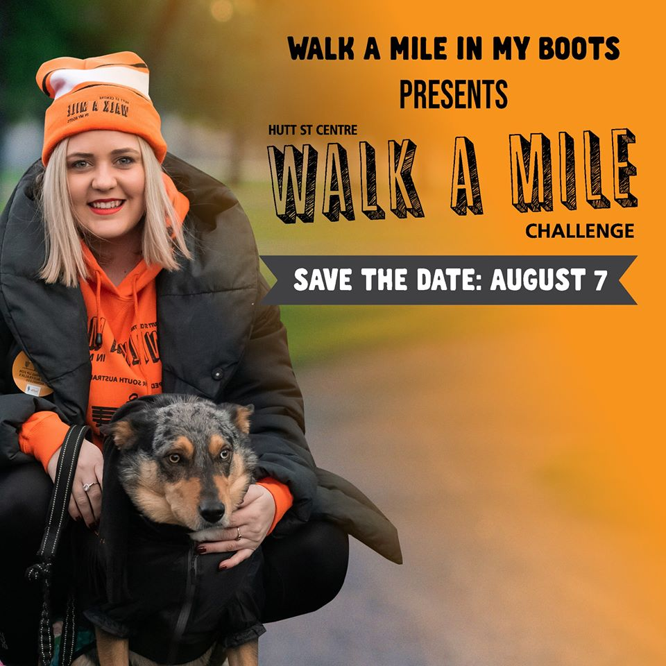 walk a mile in my boots challenge