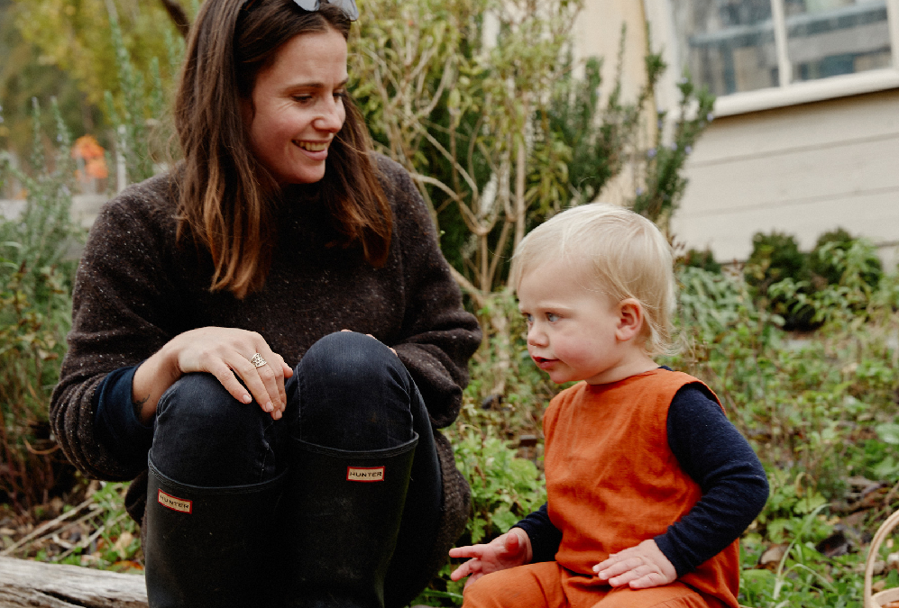 Growing families and gardens with Emma Sadie Thomson