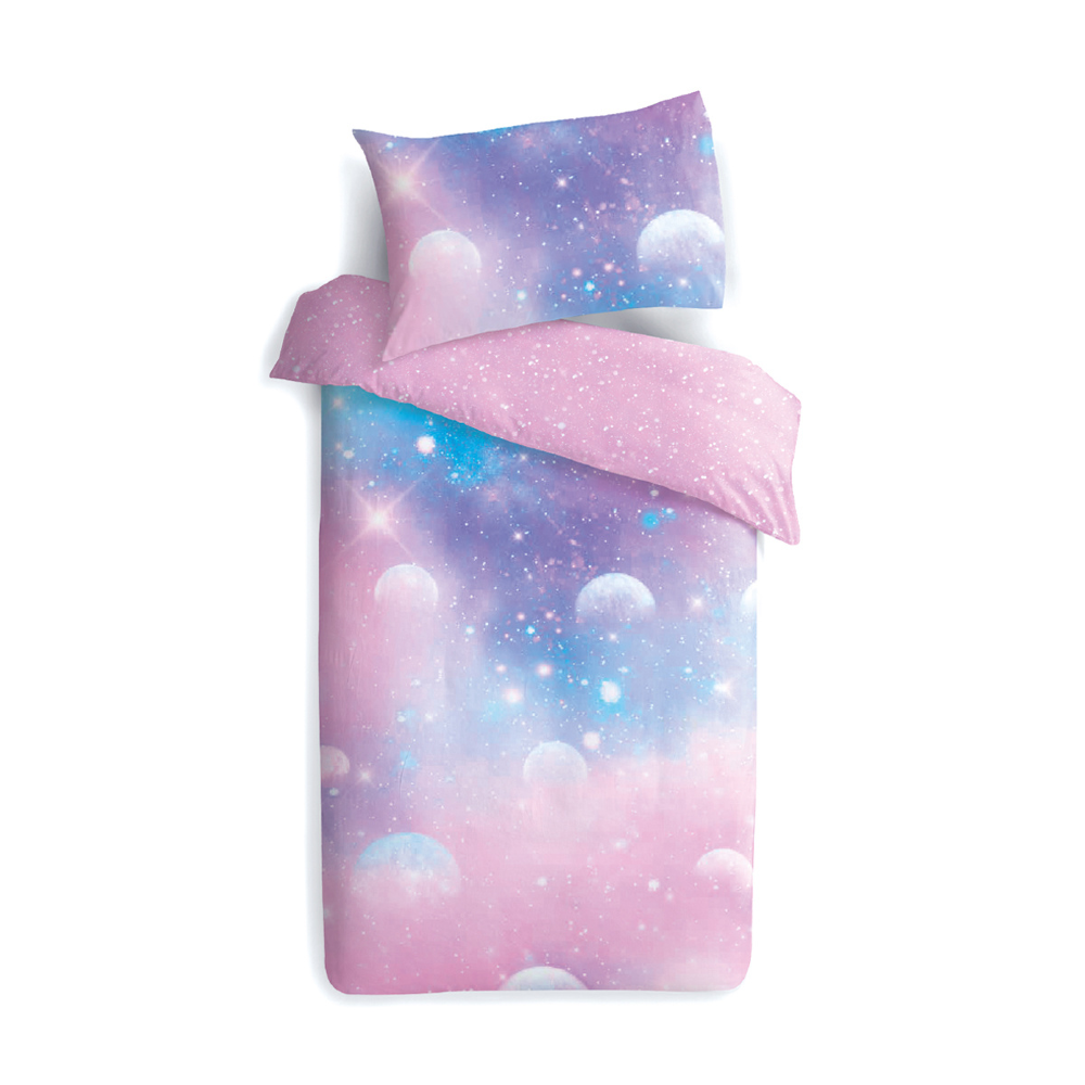 galaxy quilt cover set kids