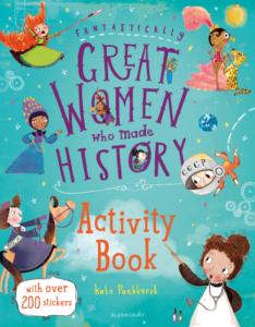 great women activity book