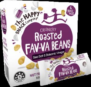 roasted fava beans