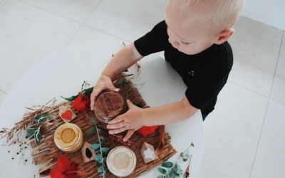 Natural handmade playdough from The Good Dough Co