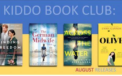 KIDDO BOOK CLUB: Best August New Release Books