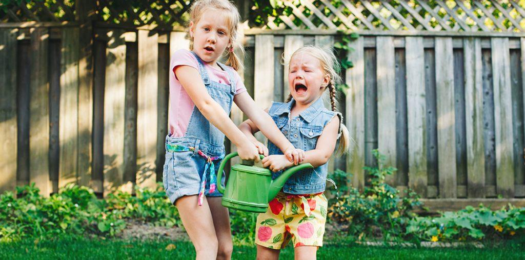 siblings fighting