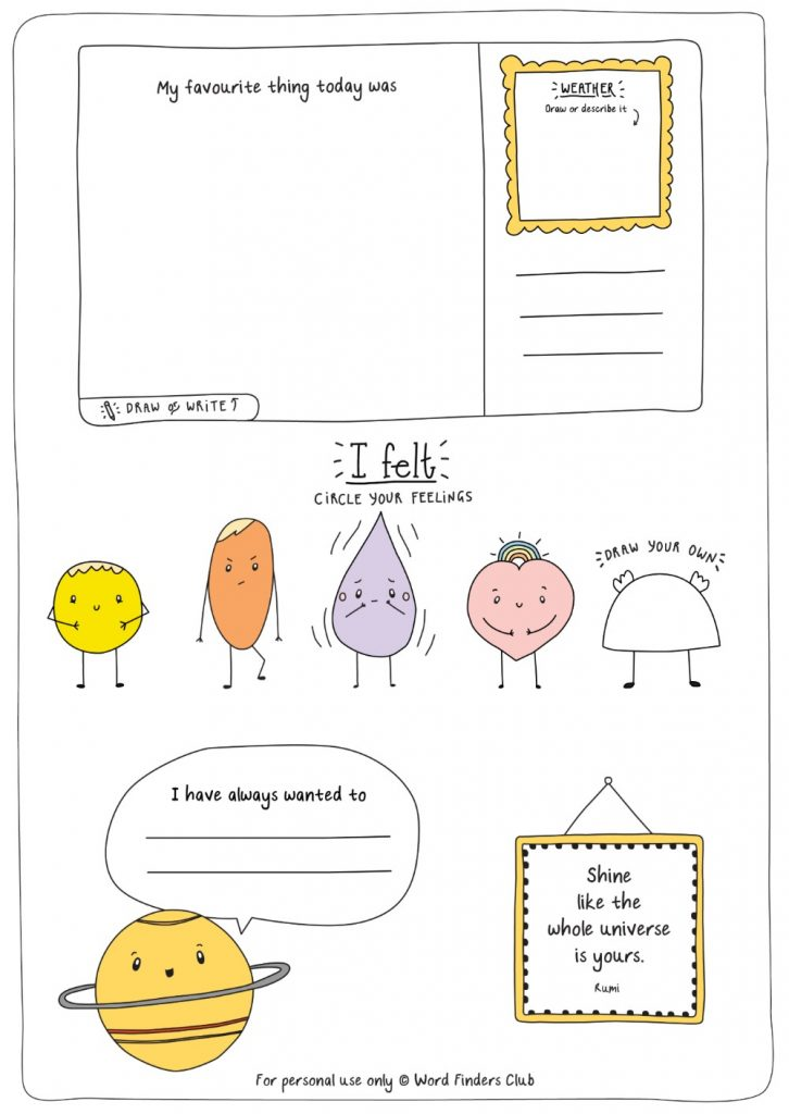 word finders club daily journal