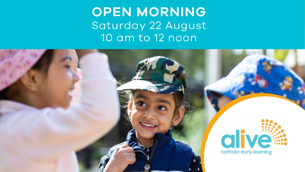 alive open morning