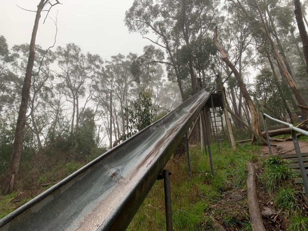 challenge hill slide