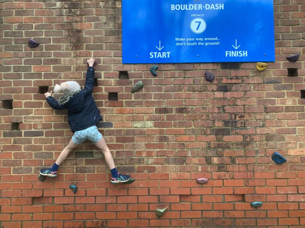 challenge hill bouldering