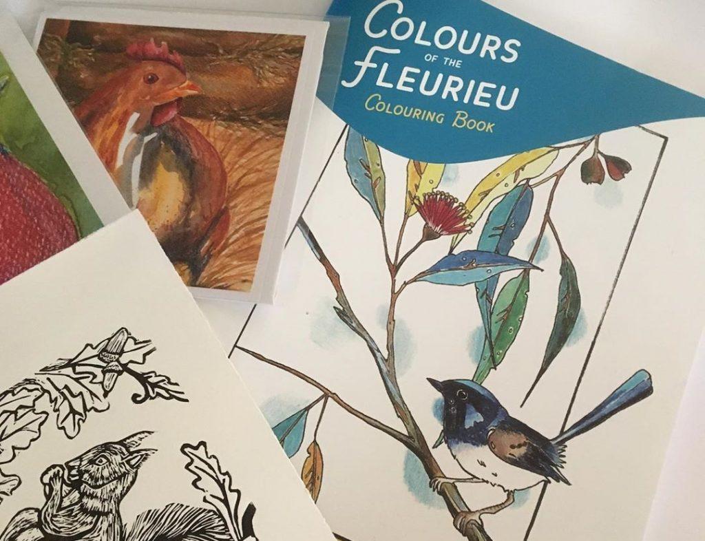 colours of the fleurieu