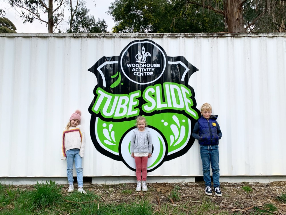 tube slides woodhouse
