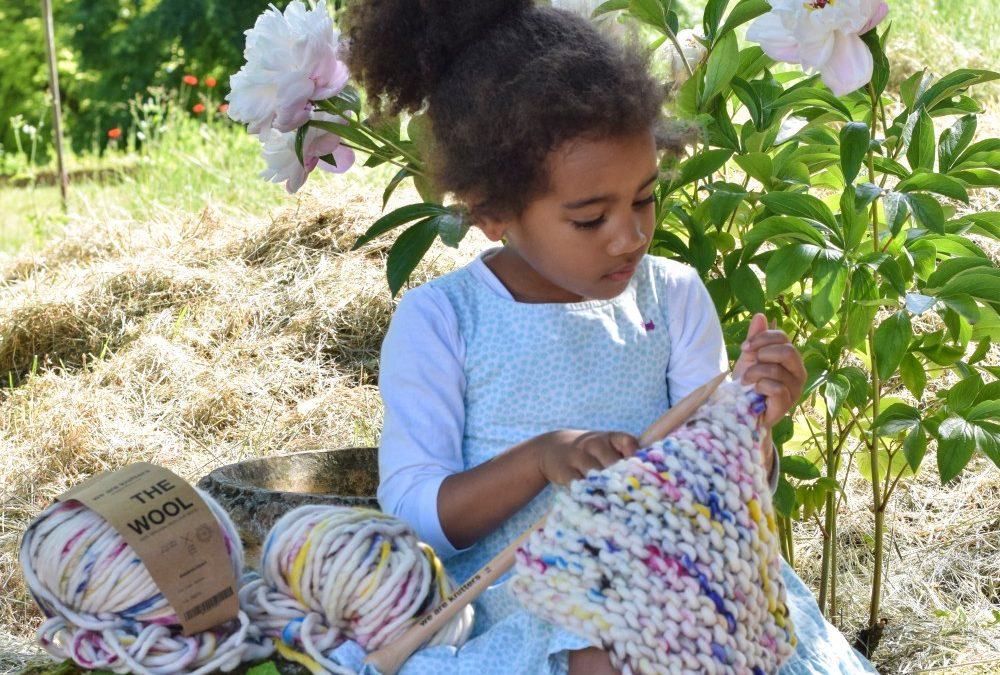 Win: A DINKA Scarf Kids Knitting Kit