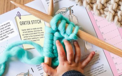We are knitters: fashion kits for kids to knit