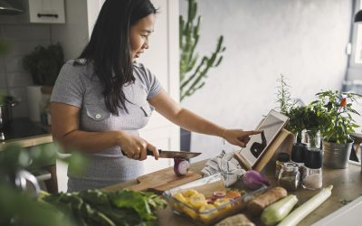 Family mealtimes go online to save time