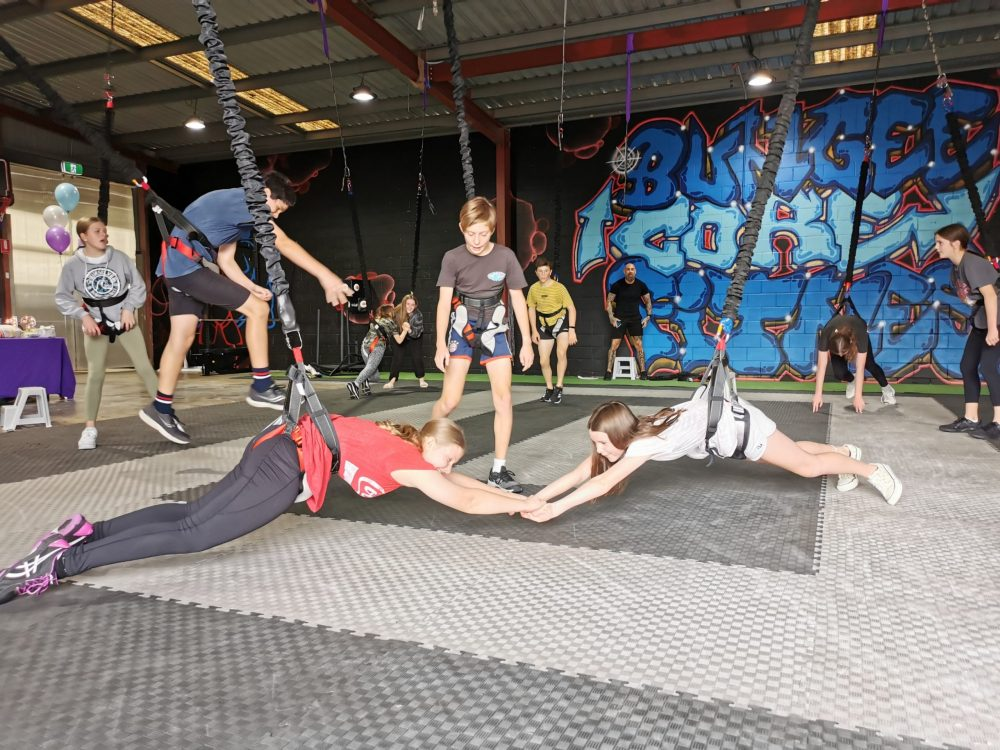 bungee core fitness parties