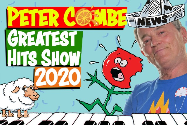 World Premiere: Peter Combe's GREATEST HITS live on stage!