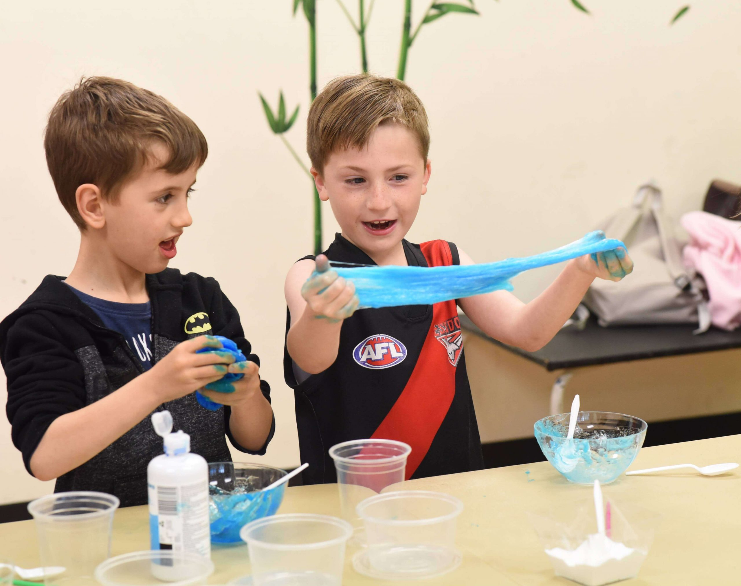 first senses slime party