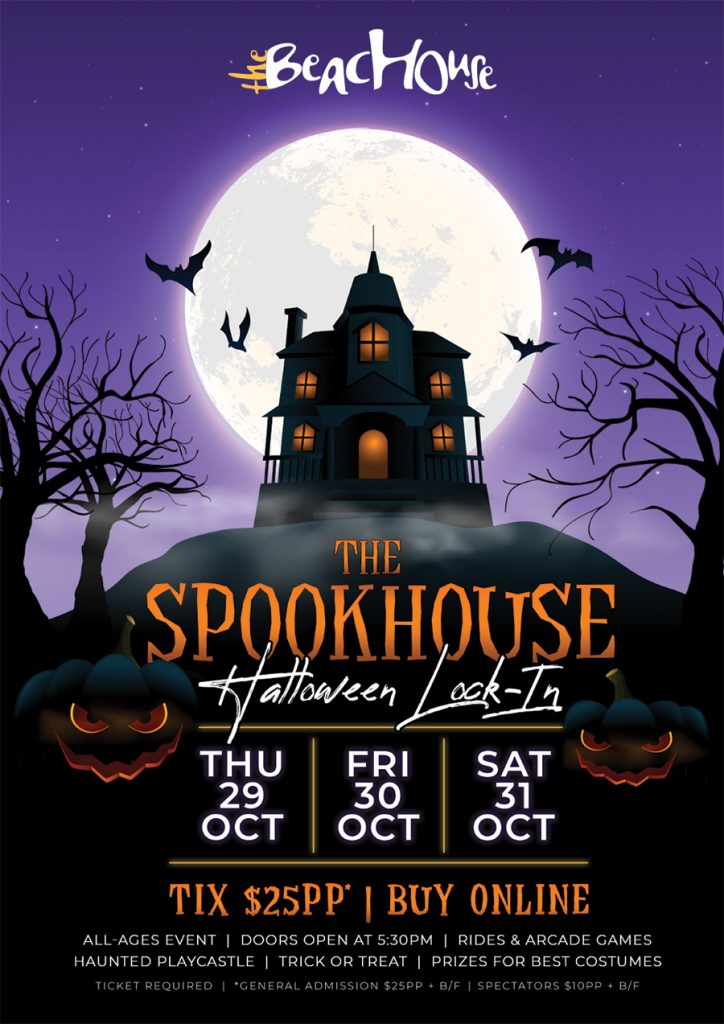 the beachouse spookhouse