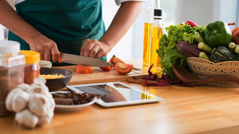 cooking meal prep app
