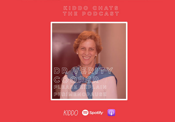 perimenopause feature on kiddo podcast