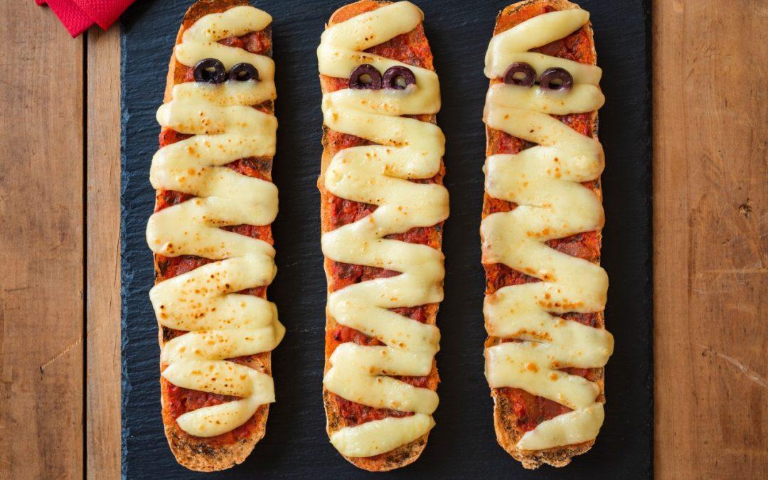 Adelaide Central Market Easy Halloween Mummy Pizza Recipe
