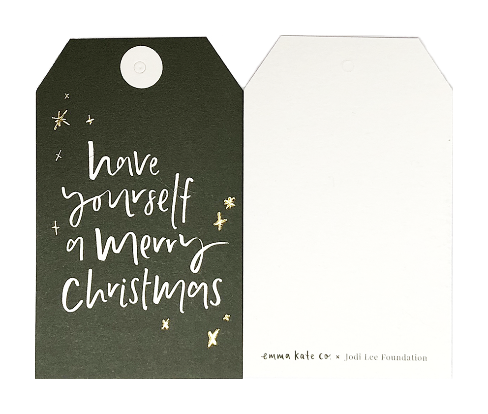 jodi lee foundation gift tags