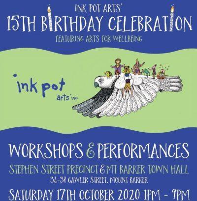 INK POT ART BIRTHDAY