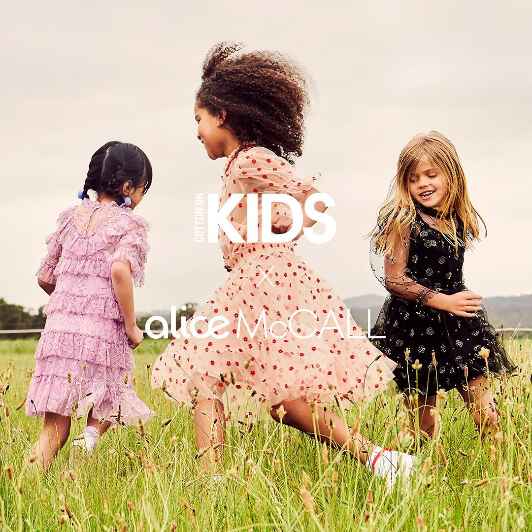 Cotton on kids x alice mccall