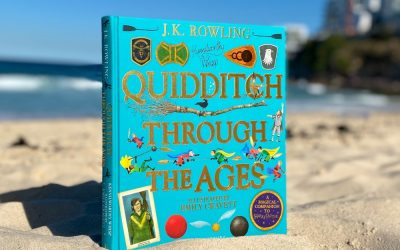 WIN: Quidditch Through The Ages Illustrated Book