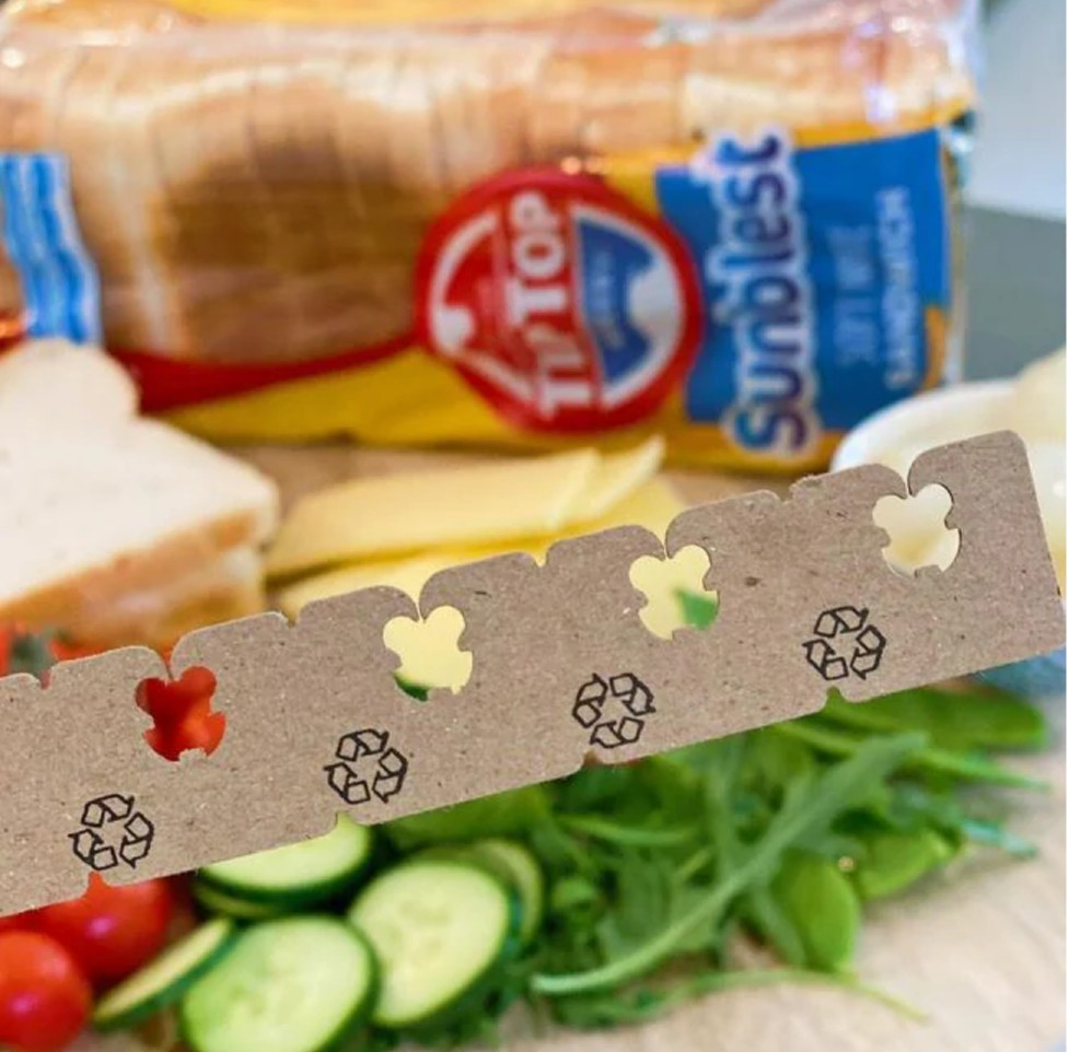 tip top recycled bread tags