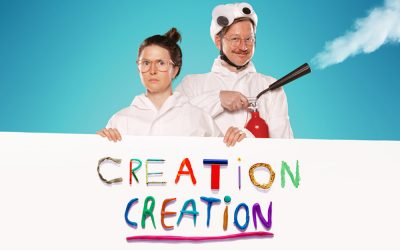 Creation Creation answers life's big questions… sort of!