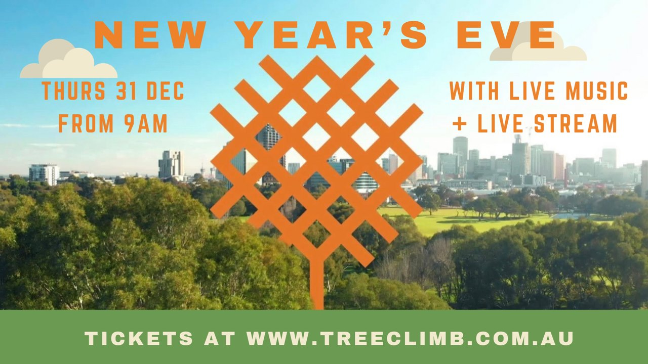 treeclimb new years eve