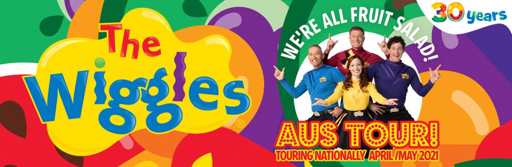 The Wiggles WE're All Fruit Salad Tour Adelaide