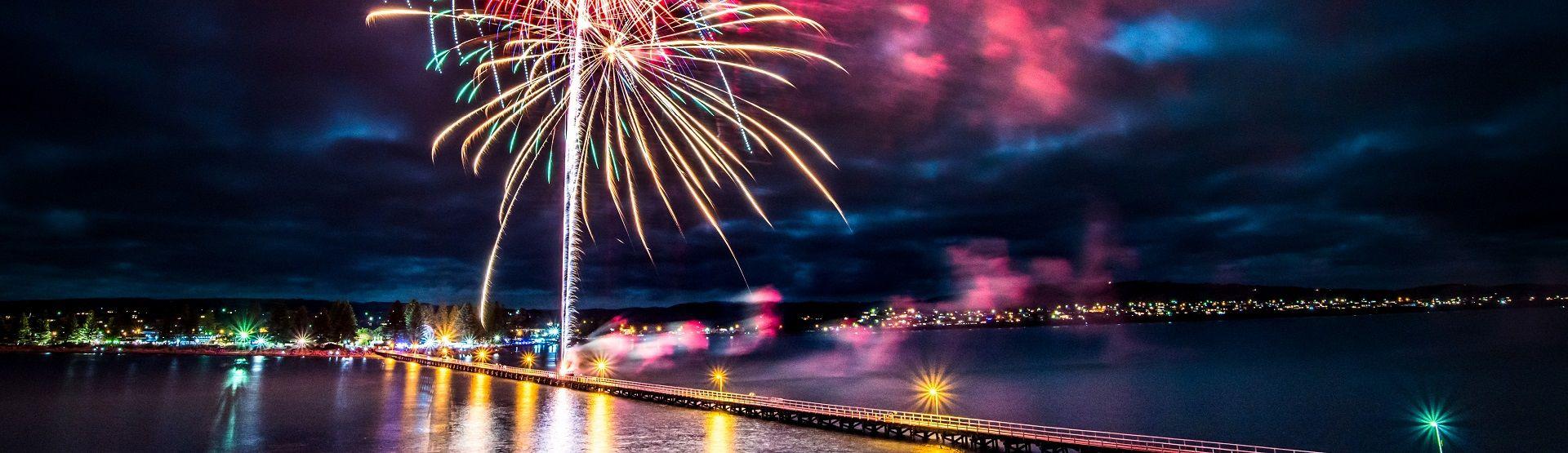 victor harbor fireworks