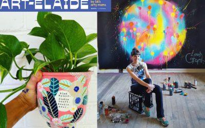ART-edlaide: BE INSPIRED by Adelaide's ARTIST Mums!