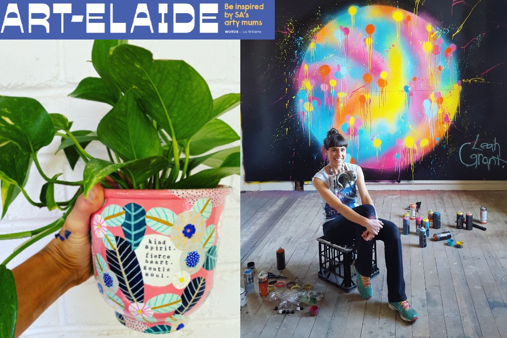 ART-edlaide: BE INSPIRED by Adelaide's ARTIST Mums!
