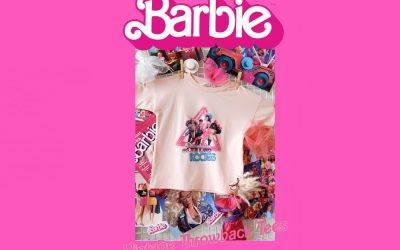 BARBIE™ THROWBACK RANGE LAUNCHED BY GOLDIE + ACE