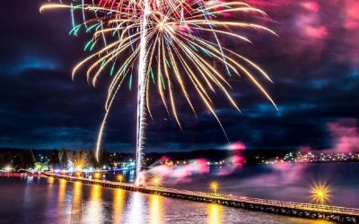 Where to see Fireworks in Adelaide on New Year's Eve
